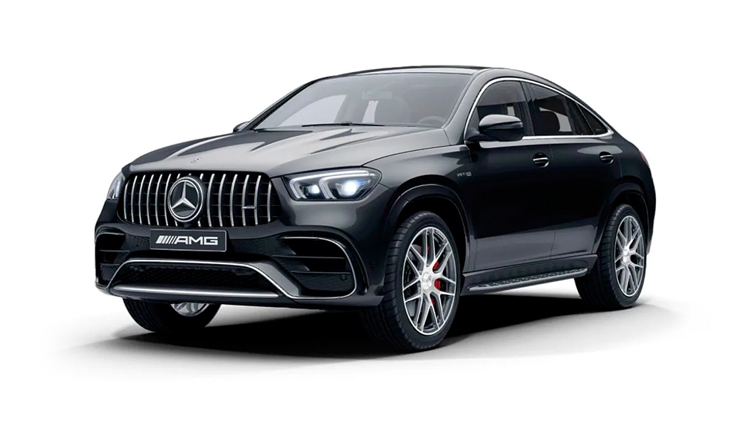 Mercedes Benz  AMG GLE Coupe Obsidian Black Colour
