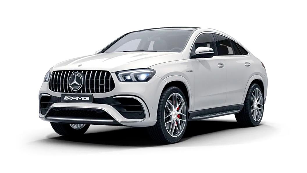 Mercedes Benz  AMG GLE Coupe Polar White Colour