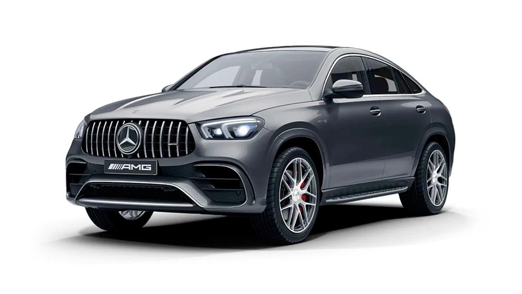 Mercedes Benz  AMG GLE Coupe Selenite Grey Colour