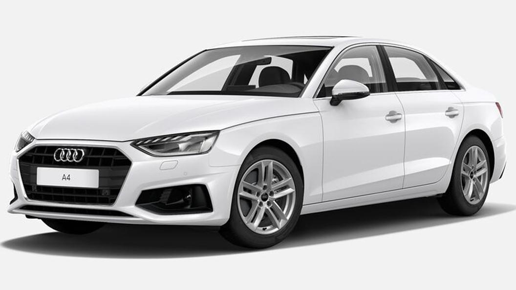Audi  A4 Ibis White Colour