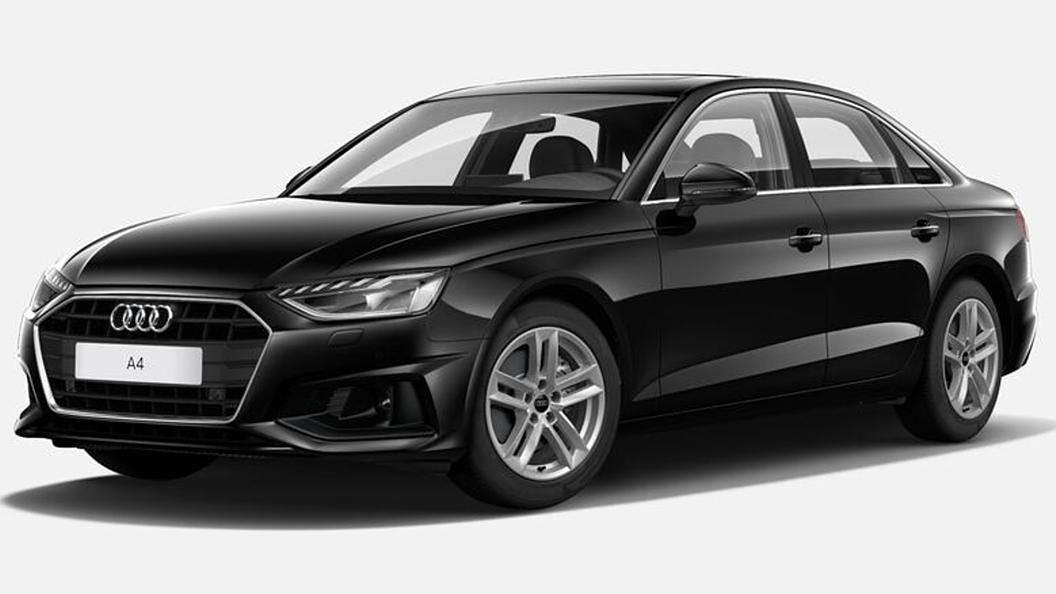 Audi  A4 Mythos Black Metallic Colour