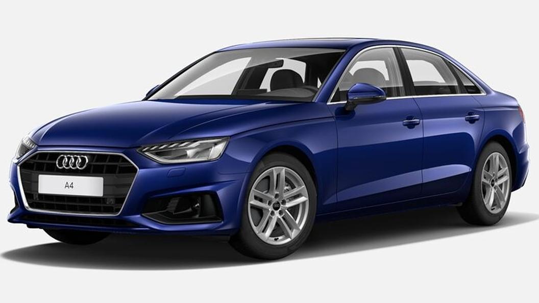 Audi  A4 Navarra Blue Metallic Colour