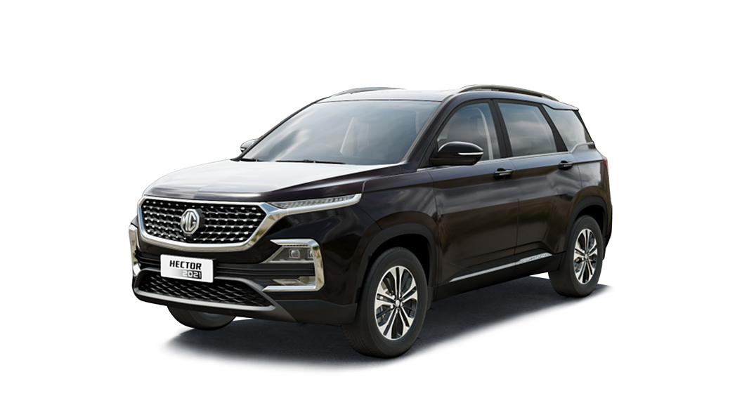 MG  Hector Burgundy Red Colour