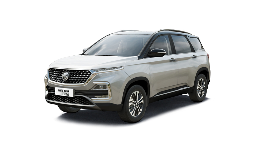 MG  Hector Candy White with Starry Black Colour