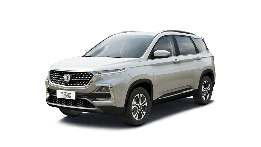 MG  Hector Candy White Colour