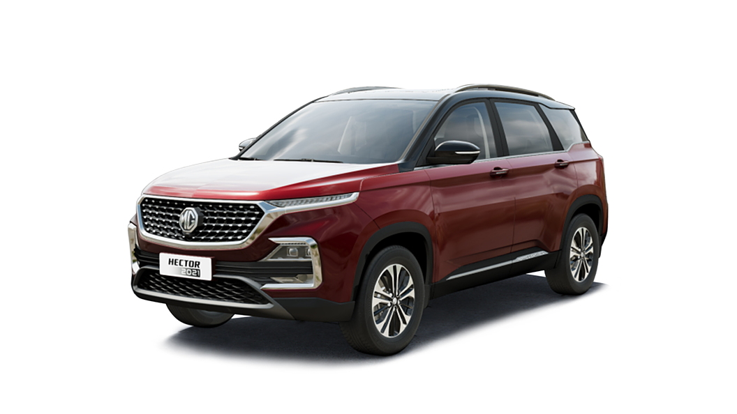 MG  Hector Glaze Red with Starry Black Colour