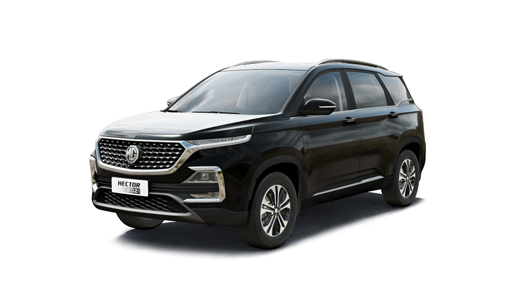MG  Hector Starry Black Colour