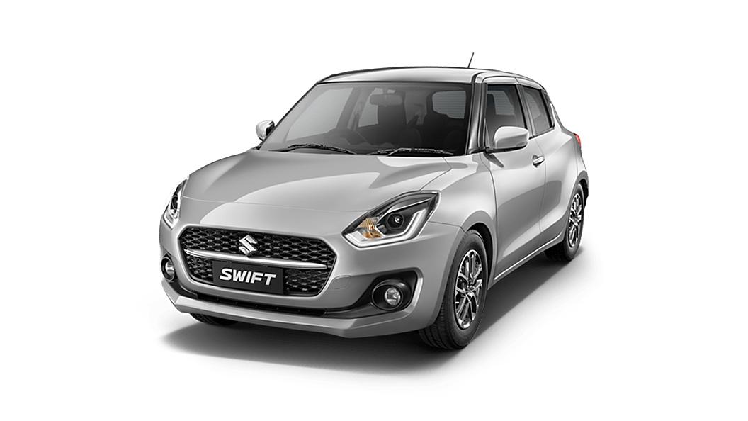 Maruti Suzuki  Swift Metallic Silky Silver Colour
