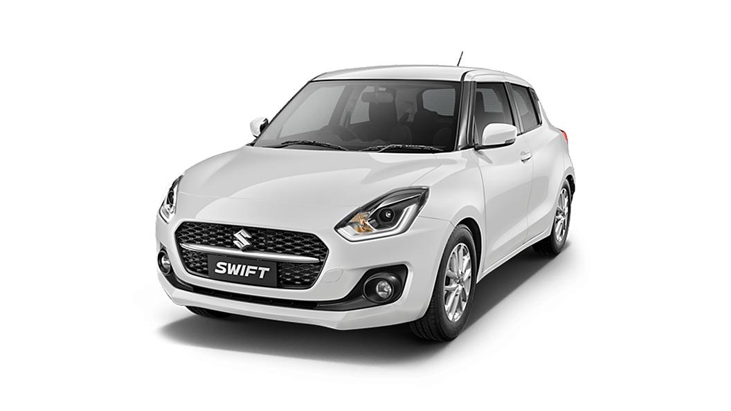 Maruti Suzuki  Swift Pearl Arctic White Colour