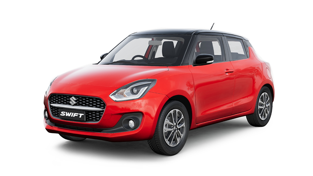 Maruti Suzuki  Swift Solid Fire Red Colour