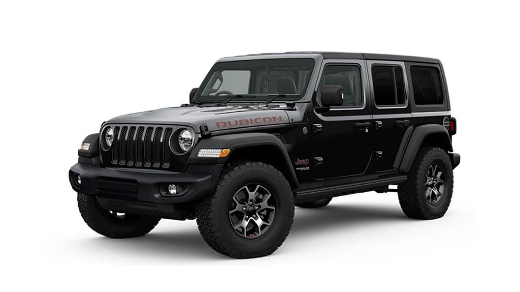 Jeep  Wrangler Black Colour