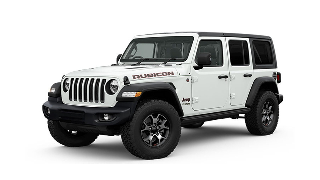 Jeep  Wrangler Bright White Colour
