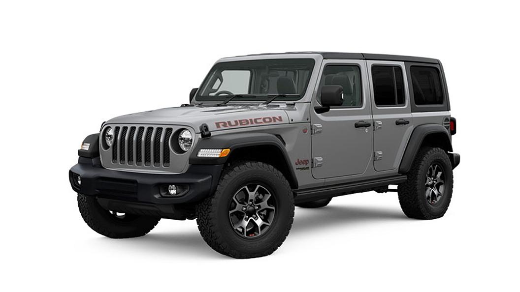 Jeep  Wrangler Sting Grey Colour