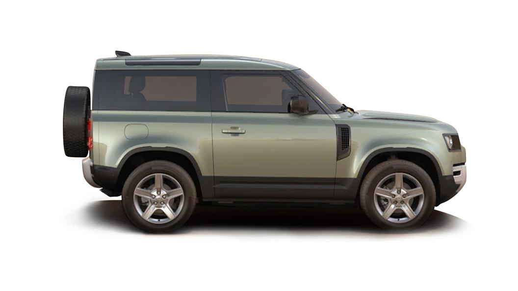 Land Rover  Defender Pangea Green Metallic Colour
