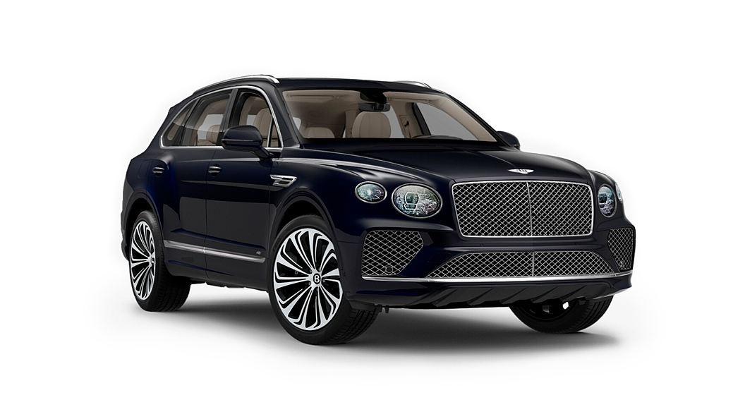 Bentley  Bentayga Dark Sapphire Colour