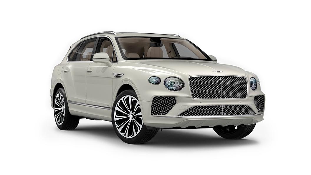 Bentley  Bentayga Glacier White Solid Colour