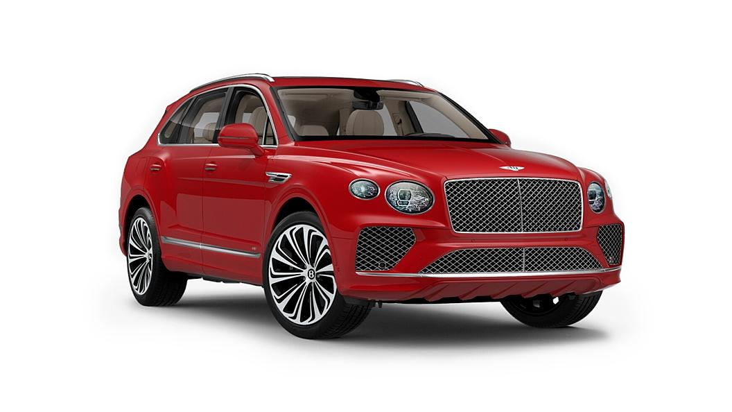 Bentley  Bentayga St. James' Red Solid Colour