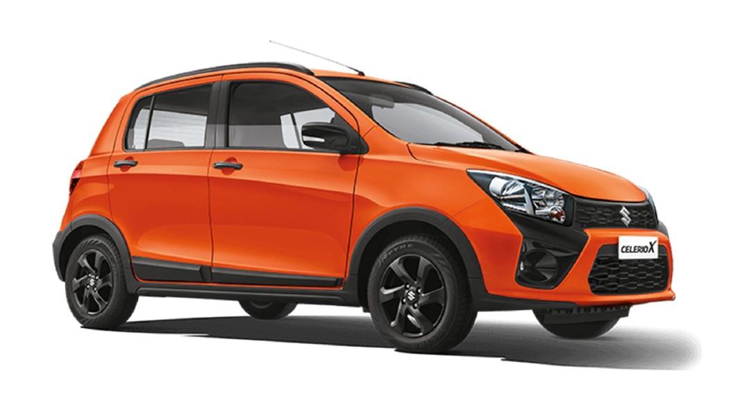 Maruti Suzuki  Celerio X Paprika Orange Colour