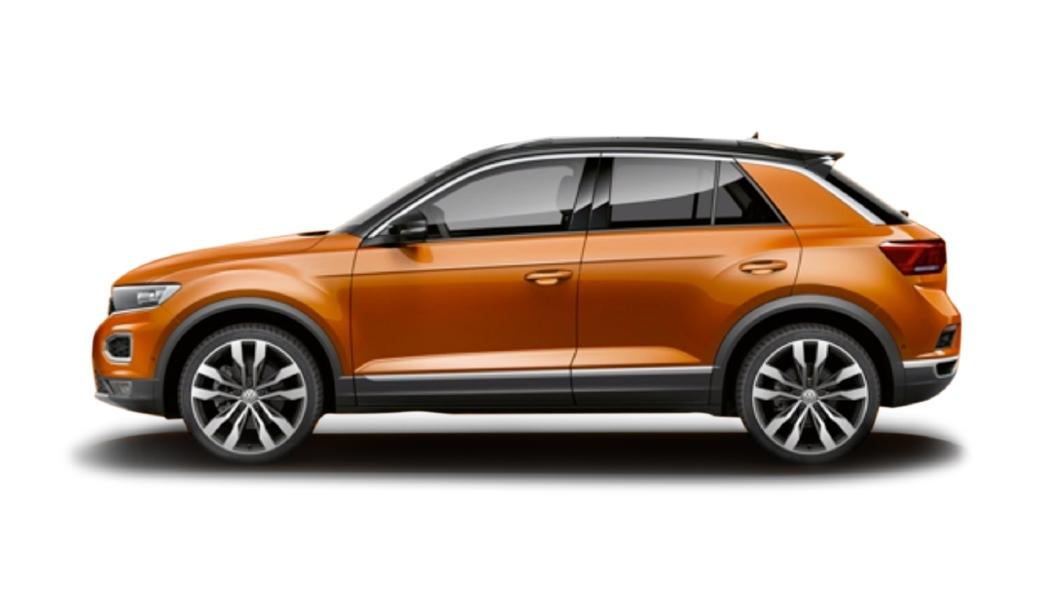 Volkswagen  T-Roc Energetic Orange Colour