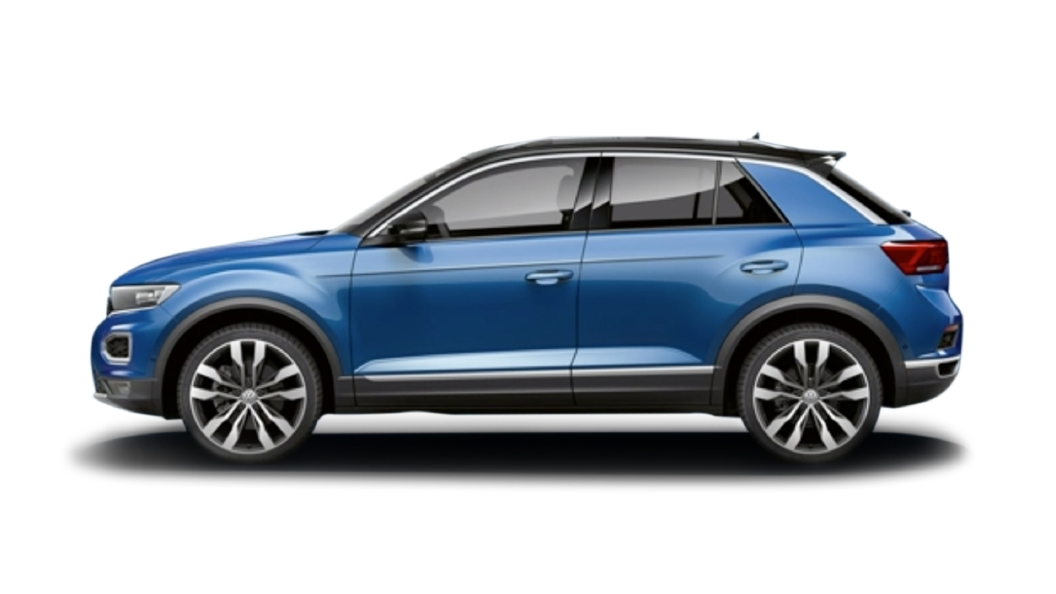 Volkswagen  T-Roc Ravenna Blue Colour