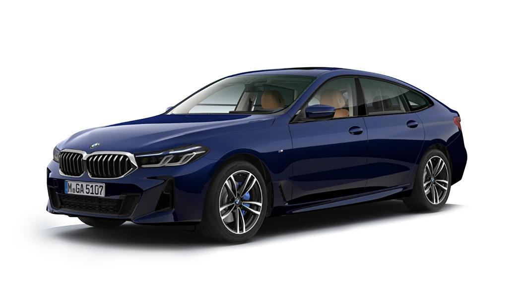 BMW  6 Series GT BMW Individual Tanzanite Blue metallic Colour