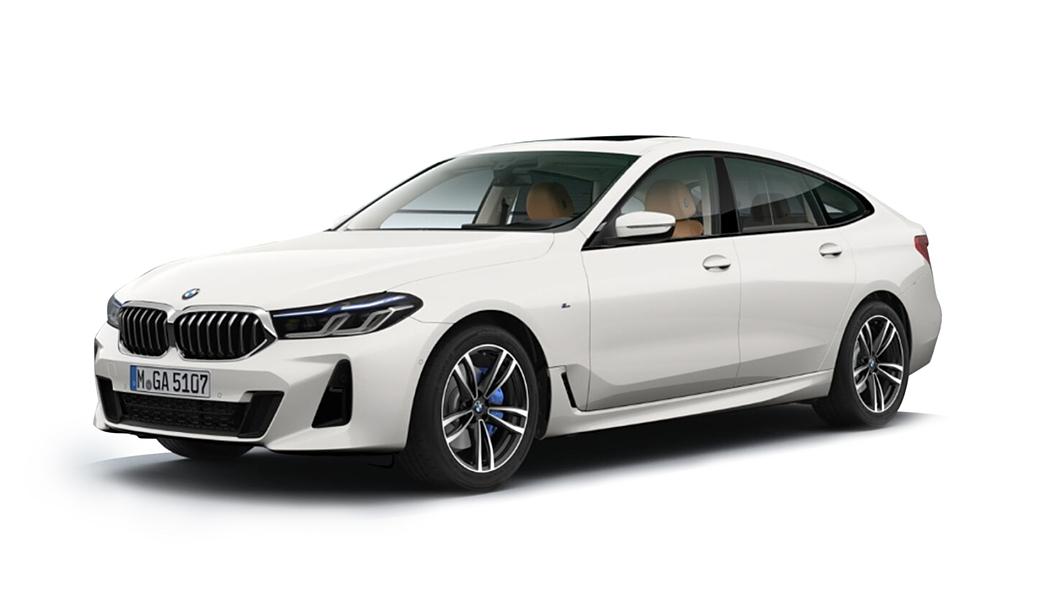 BMW  6 Series GT Mineral White Colour