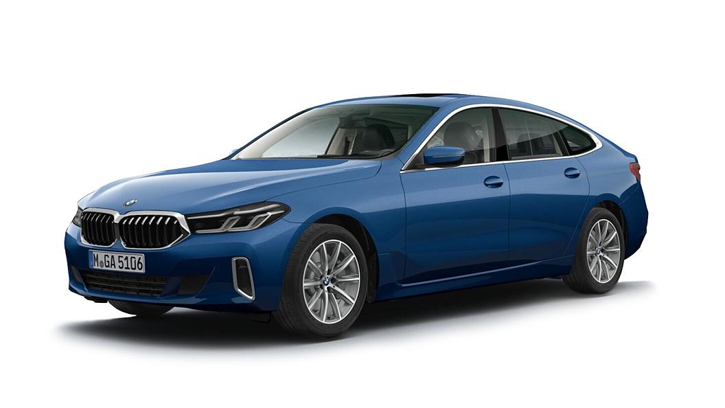 BMW  6 Series GT Phytonic Blue Colour