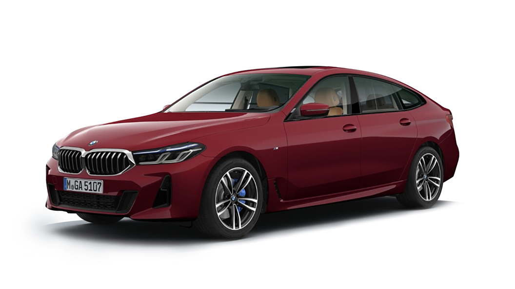 BMW  6 Series GT Piemont Red Colour