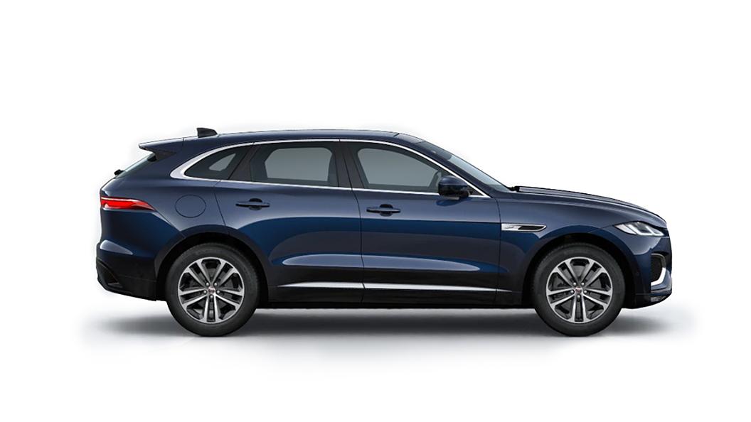 Jaguar  F-Pace Portofino Blue Colour