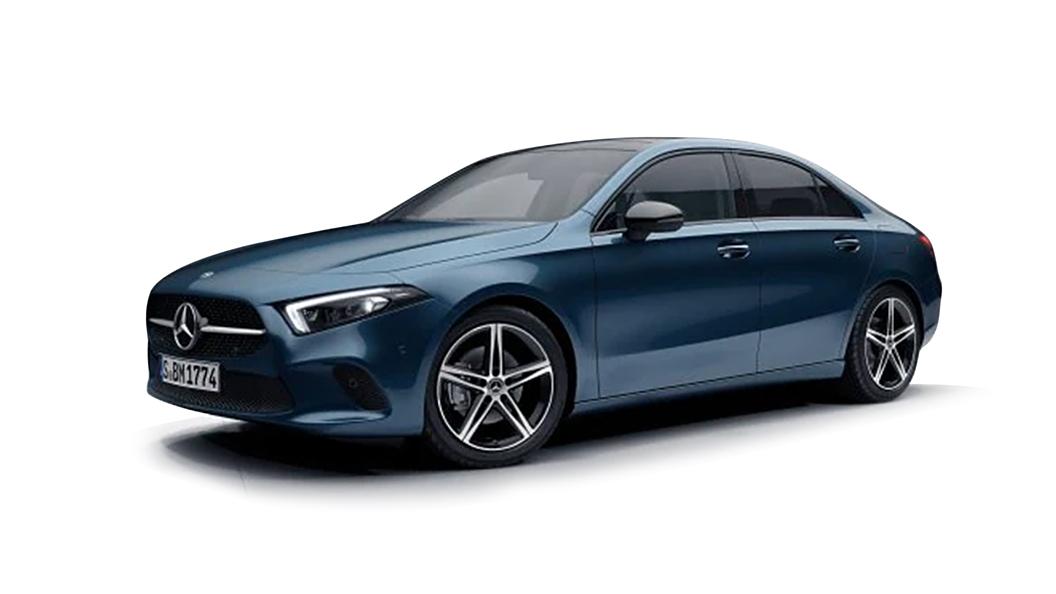 Mercedes Benz  AMG A35 Limousine Denim Blue Colour