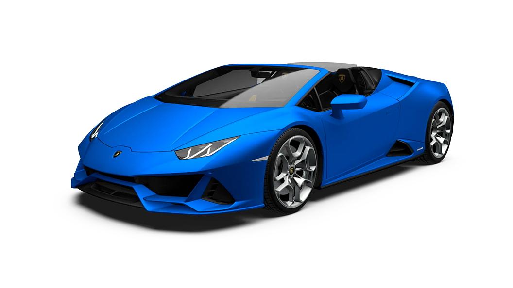 Lamborghini  Huracan Evo Spyder Blue Glavco Colour