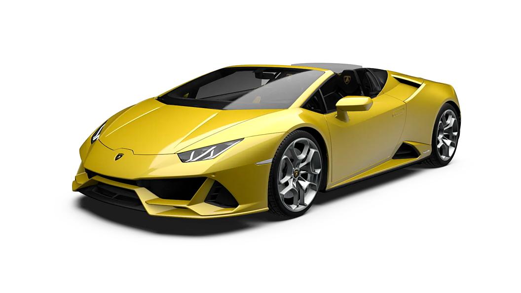 Lamborghini  Huracan Evo Spyder Giallo Tenerife Colour