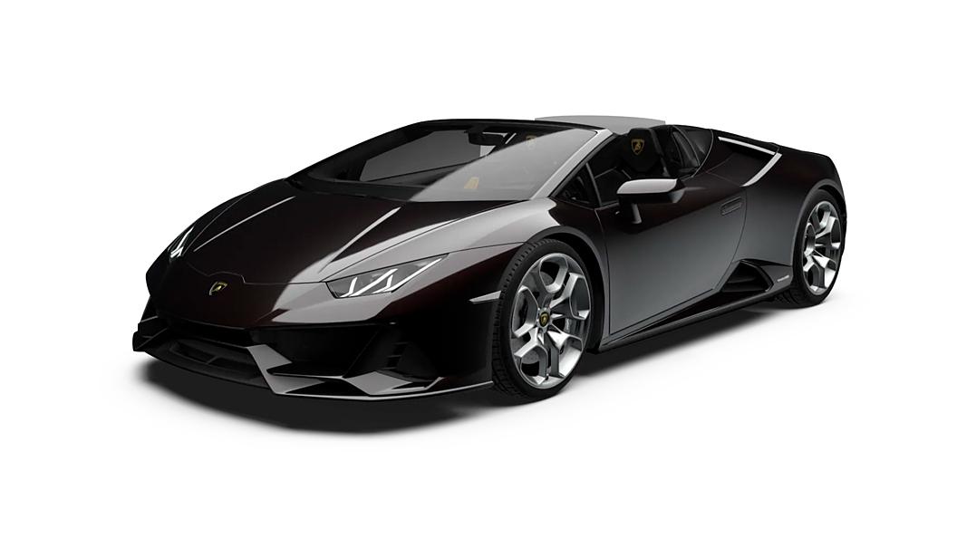Lamborghini  Huracan Evo Spyder Nero Granatus Colour