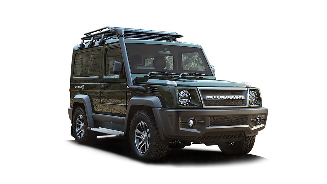 Force Motors  Gurkha Green Colour