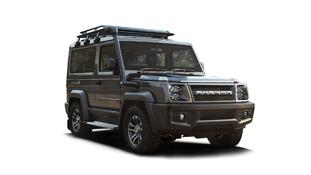 Force Motors  Gurkha Grey Colour