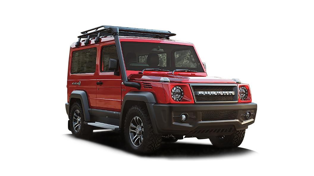 Force Motors  Gurkha Red Colour