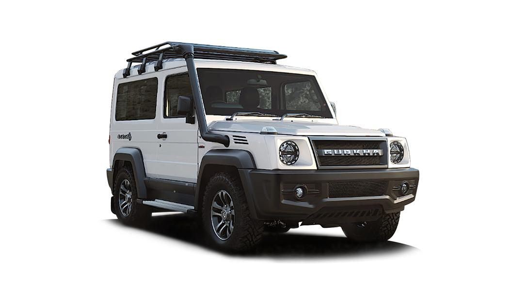 Force Motors  Gurkha White Colour