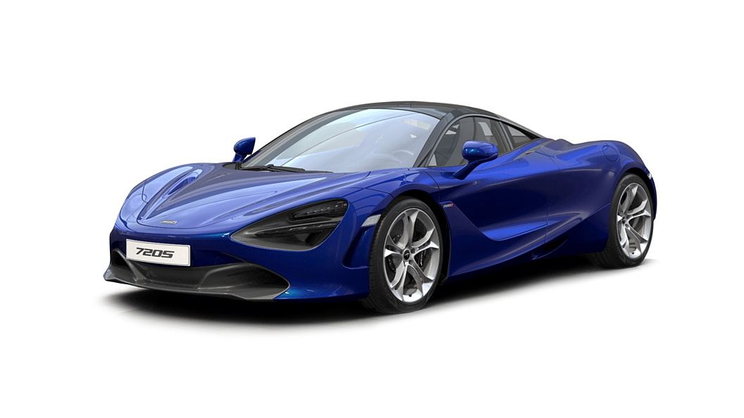 McLaren  720S Aurora Blue Colour