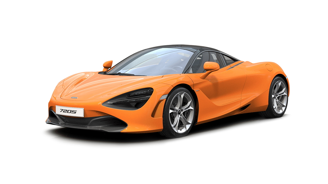 McLaren  720S McLaren Orange Colour