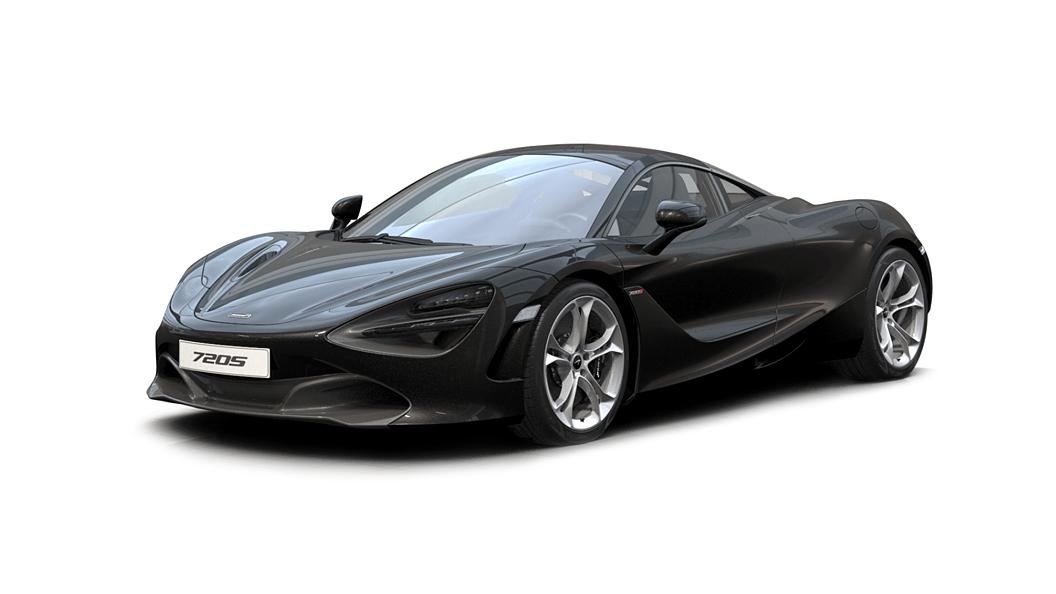 McLaren  720S Onyx Black Colour