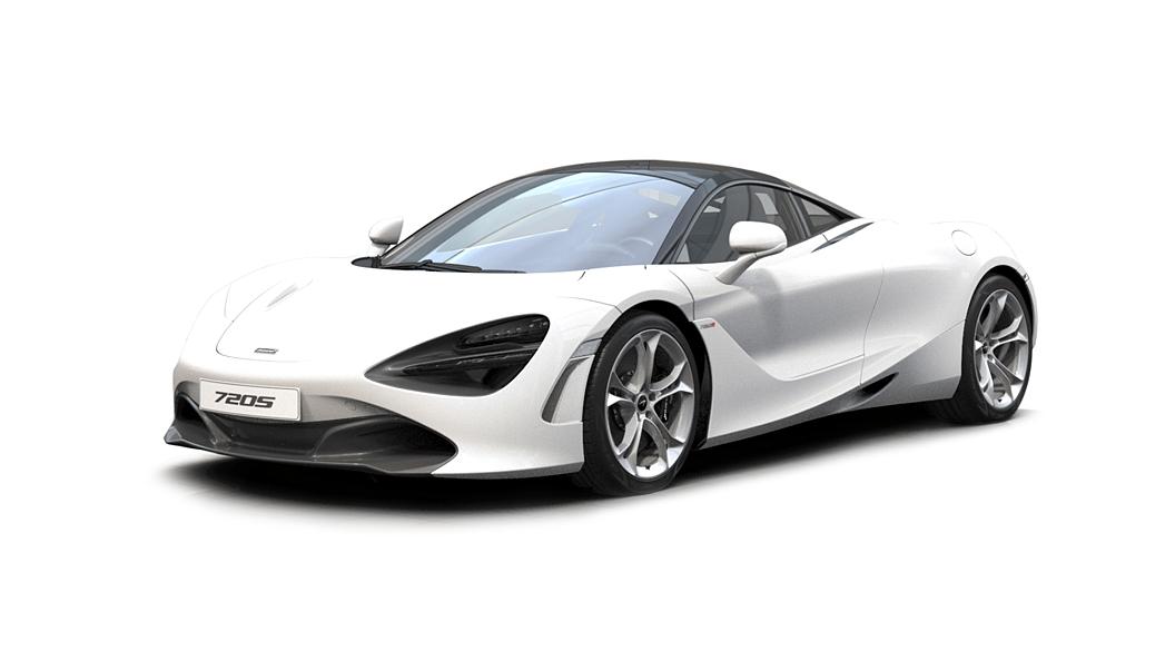 McLaren  720S Silica White Colour