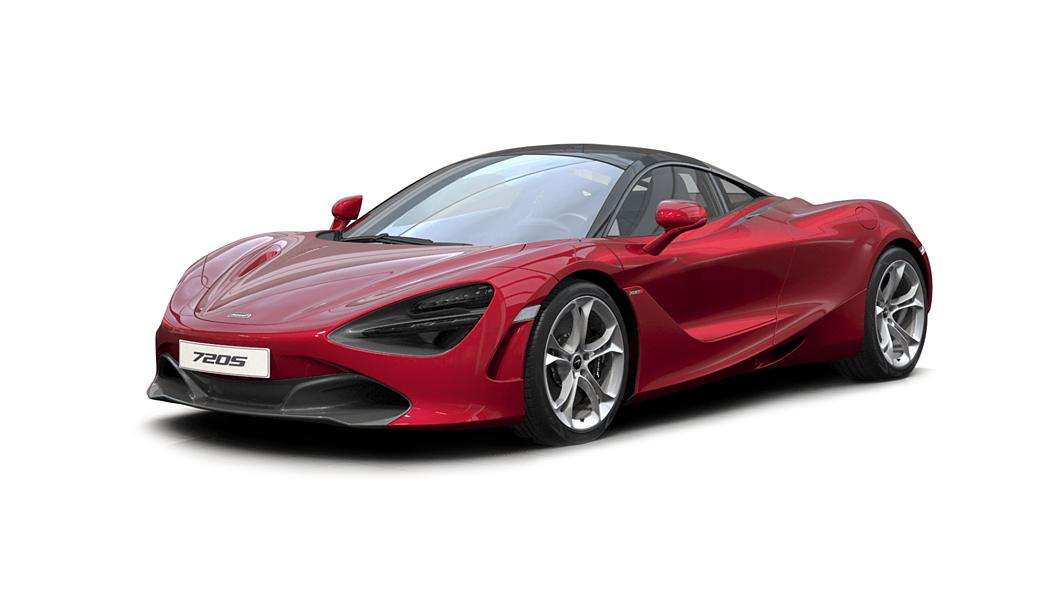 McLaren  720S Vermillion Red Colour