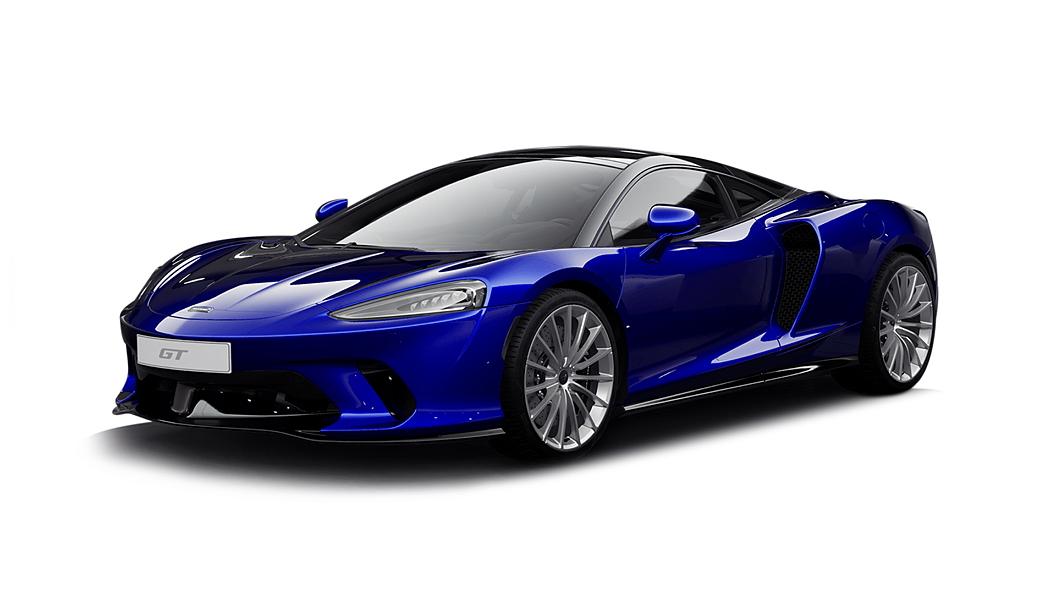 McLaren  GT Aurora Blue Colour