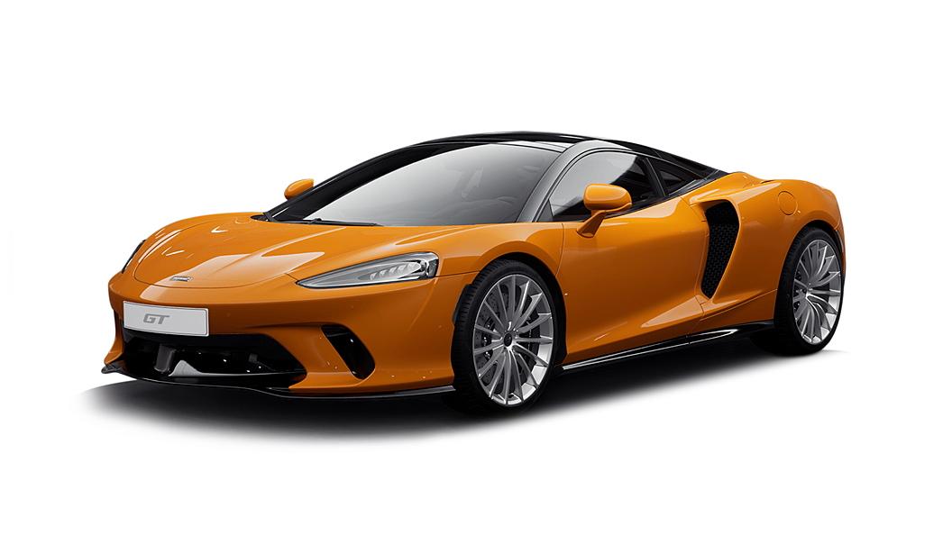 McLaren  GT McLaren Orange Colour