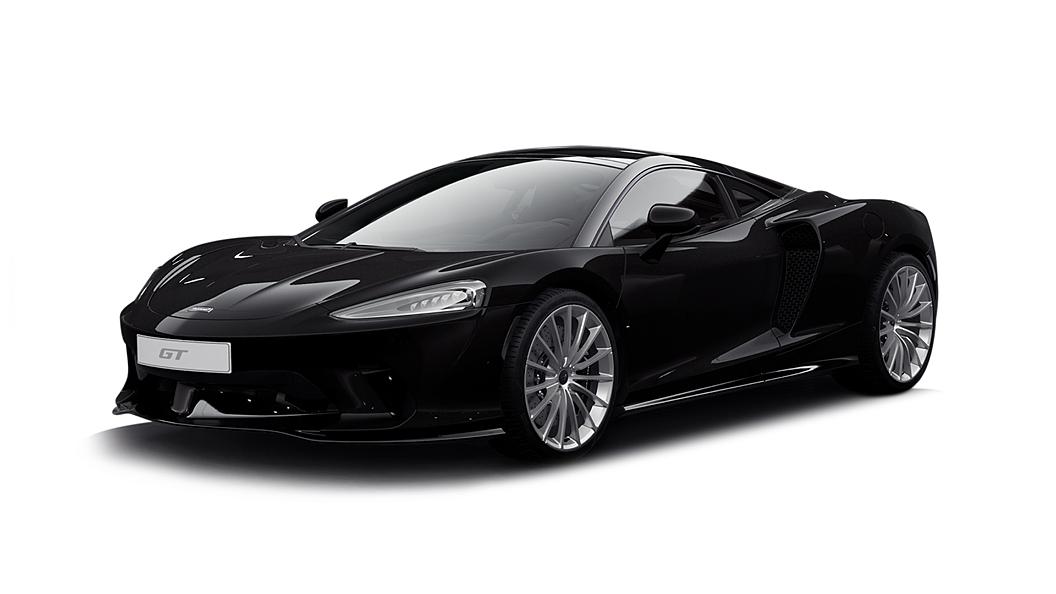 McLaren  GT Onyx Black Colour