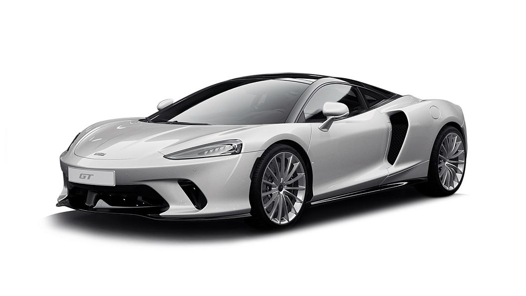McLaren  GT Silica White Colour