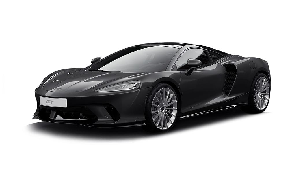 McLaren  GT Storm Grey Colour