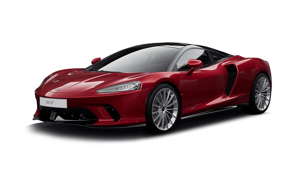 McLaren  GT Vermillion Red Colour