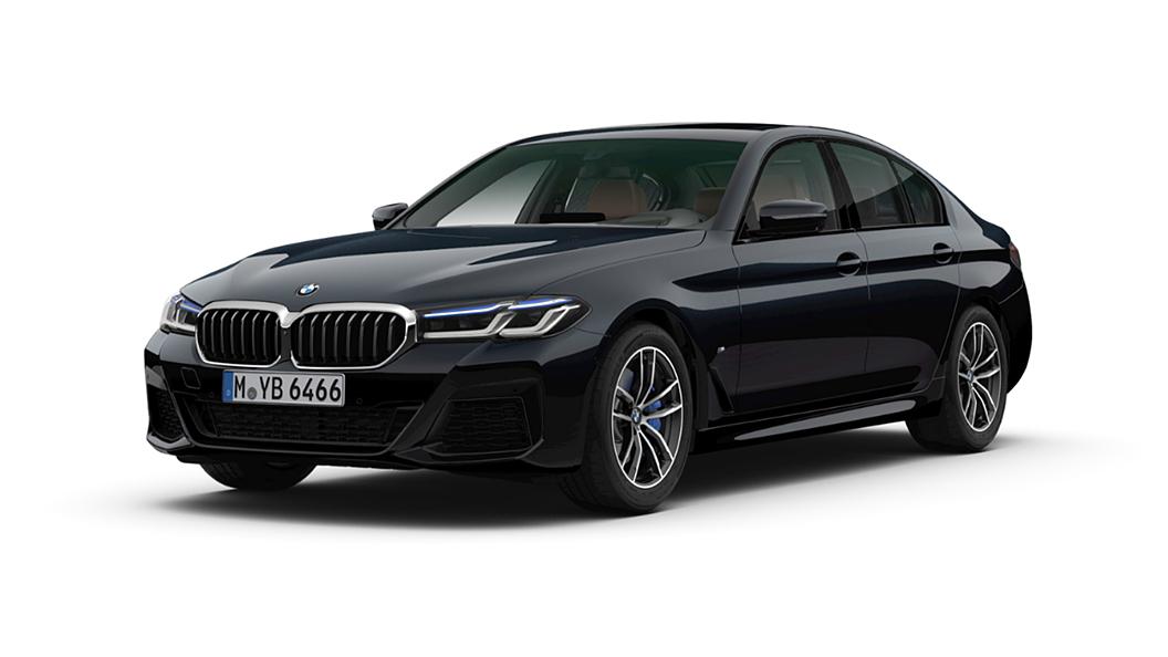 BMW  5 Series Carbon Black Metallic Colour