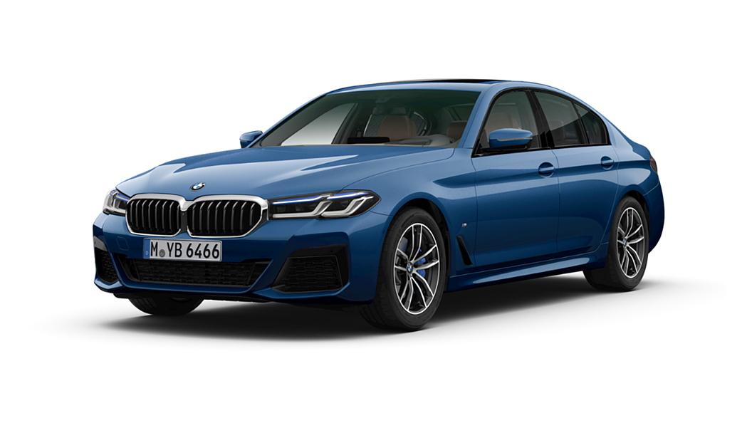 BMW  5 Series Phytonic Blue Metallic Colour